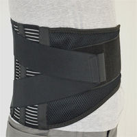 High elasticity mesh breathable with removable steel Waist Support back support brace belts $28.48