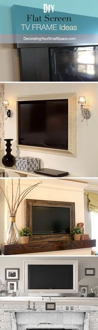 DIY TV Frame: Disguise that Flat Screen!