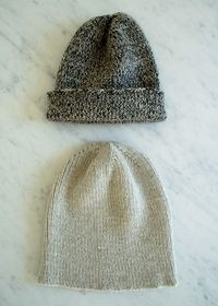 Laura's Loop: The Boyfriend Hat - The Purl Bee - Knitting Crochet Sewing Embroidery Crafts Patterns and Ideas! | See more about knit hat patterns, craft patterns and hat patterns.