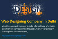 """Web Design Delhi �€"""" Eblon Enterprises is one of the best web designing company in Delhi offers custom web designing services & solution that fit to your business"""