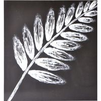 White Leaf Wall Art