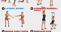 This seven-move sequence is about both cardio AND strength-building.