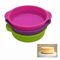 Silicone Round Shape Cake Mould Pan $14.99