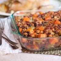 Sweet Potato and Pecan Stuffing from