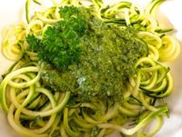 Bursting with flavor and fresh herbs, pesto brightens up any meal. Try drizzling it over veggies, using as a pasta sauce, spreading on pizza or crackers, or add
