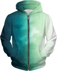 Green To White Hoodie $89.00