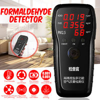 New Professional PM2.5 Detector Formaldehyde Detector HCHO & TVOC Air Analyzers Tester