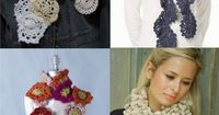 "25 Different Ways to Crochet a Scarf �€"" Crochet Concupiscence"