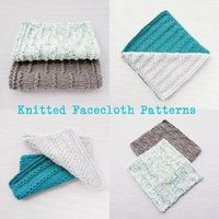 Knitted Facecloth Patterns