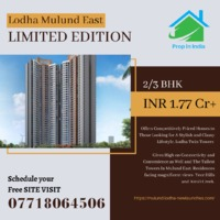 Lodha Mulund East Limited Edition Lodha, India's largest real estate developer    �–��G+37 storey structure    �–��Architecture : Hafeez Contractor    �–��Amenities : Sitetectonix - Singapore    �–��Land Parcel : 2.4 Acr...