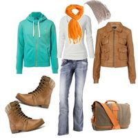 going for a hike, created by lauralye on Polyvore