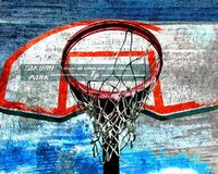 This modern basketball art print can be found @etsy on takumipark in different sizes. It is a photo print. #urbanart #basketballart #basketball #sportsart