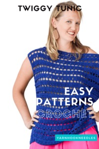 Learn How to Make a Crochet Tunic!