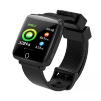 Lenovo HW25 1.3' 2.5D IPS Screen All-weather Monitor IP68 Deep Waterproof Weather Display Smart Watch