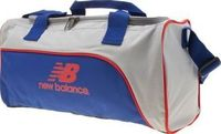 New Balance Blue Training Day Duffel Bags Whether its for the gym or urban exploring, make sure you carry your belongings in style, with the Training Day Duffel from New Balance. The blue and grey fabric accessory is complete with red branded http://www.c...