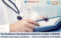 SISGAIN is best healthcare app development company in USA. We also provide solutions for custom medical software developemnt. Our developers already provided top healthcare development solutions for various medical organizations & individuals. Contact...
