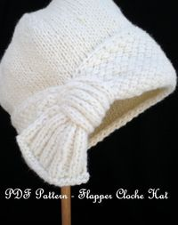 66069c2efe2 Posts similar to  Ravelry  Country Flapper Cloche pattern by J. G. ...