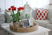 Decorating with reds. How you can do it and still be on trend.