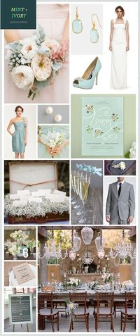 seafoam wedding