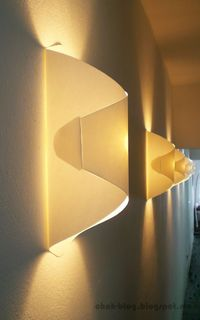 DIY paper lamp / Lampara de papel