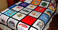 T-shirt quilt.... on the to-do list