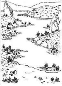 Image result for scenery colouring pages