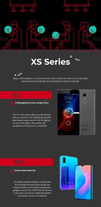 A wonderful lineup of Oale Mobile XS Series that offers everything you want from a super display to powerful battery to incredible memory.