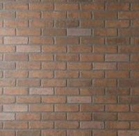 how to make your own brick backsplash with drywall mud. I have already played with this idea a little, but this link has a great tutorial!
