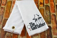 Golf Towel - The Golffather $12.99