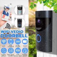 ANYTEK B30 Wireless Smart WiFi Video DoorBell IR Video Visual Ring Camera Intercom Home Security