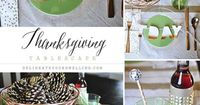 TWO simple DIYs to create this relaxed and fun Thanksgiving Tablescape, Delineateyourdwelling.com
