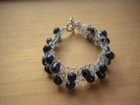 Wire Crochet with Pearls https://www.etsy.com/listing/128151299/black-freshwater-pearl-crochet-wire?ref=shop home active