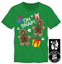 Oh Snap! Men's Green T Shirt $24.47