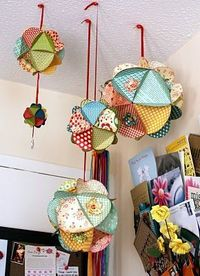 3D paper balls...HOW TO