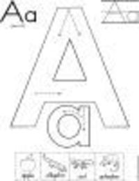 Alphabet Letter 'A' Printable Activities - Coloring Pages, Posters, Worksheets and Mini Books