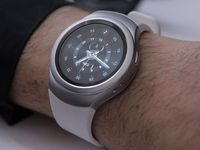 The company hopes the minimalist, circular-faced wearable can coax customers away from the Apple Watch.