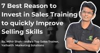 The first question when considering Sales Training is about the need for it. Management of any company has to balance priorities and distribute budgets for the organization's needs and requirements.