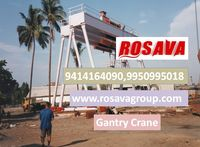 Gantry Crane Supplier Cambodia Rosava Engineering Group http://www.rosavagroup.com  Gantry crane usually also called RMG crane. Gantry crane is a hoist traveling along the railway. Gantry crane are designed light to heavy weight lifting in industries. A...