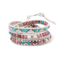 Gullei.com Multilayered Friendship Seed Bead Bracelet Gift for Girls