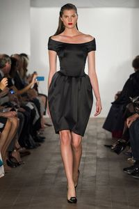 A look at the Zac Posen spring 2015 collection.