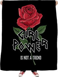 ROFB Girl Power Fleece Blanket $65.00