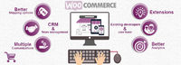 Woocommerce is a platform which provides for development of e-commerce sites using WordPress. Easy access to this forum has made website development possible