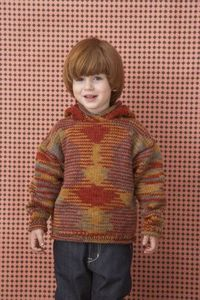 Free Knitting Pattern: Hooded Sweater