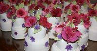 Mini cake favors are great for tea time - not just weddings!