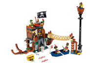 lego Pirates - Shipwreck Hideout 6253 Build a hideout for your Lego Pirates with this cool playset featuring lots of hidden traps and more! (Barcode EAN = 0673419111485). http://www.comparestoreprices.co.uk/creative-toys/lego-pirates--shipwreck-hi...