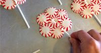 25 DIY Christmas Crafts using Candy Canes and Peppermints - DIY for Life