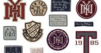 Varsity Inspired Badges & Patches by Kristiaan Passchier, via Behance