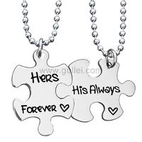 Her Forever His Always Promise Couple Necklaces https://www.gullei.com/her-forever-his-always-promise-couple-necklaces.html