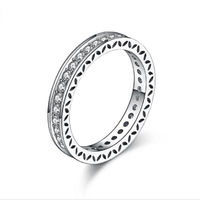 Pave Full Dazzling CZ Wedding Bridal Prom Bands Valentines's Gift Ring $16.0