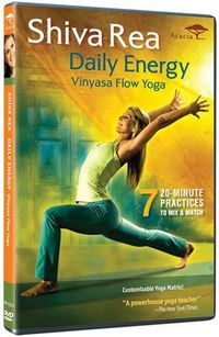 Love these 7 20-minute daily practices from #Shiva Rea. Even 20 minutes of yoga feels amazing.
